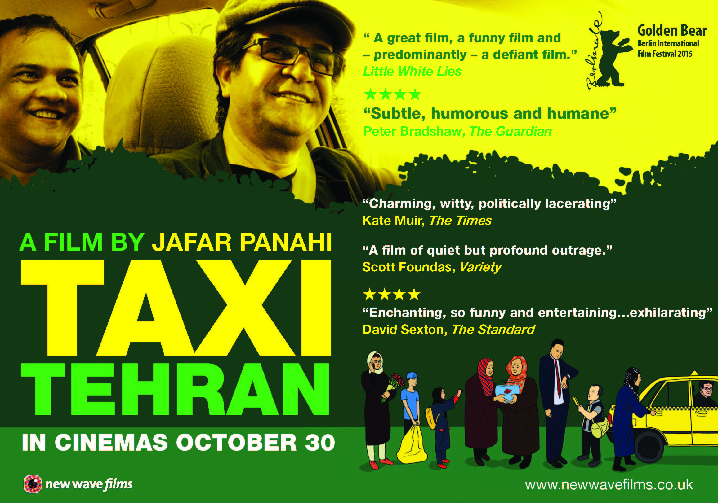 One Movie a Day: Day 259: Taxi (November, 23)